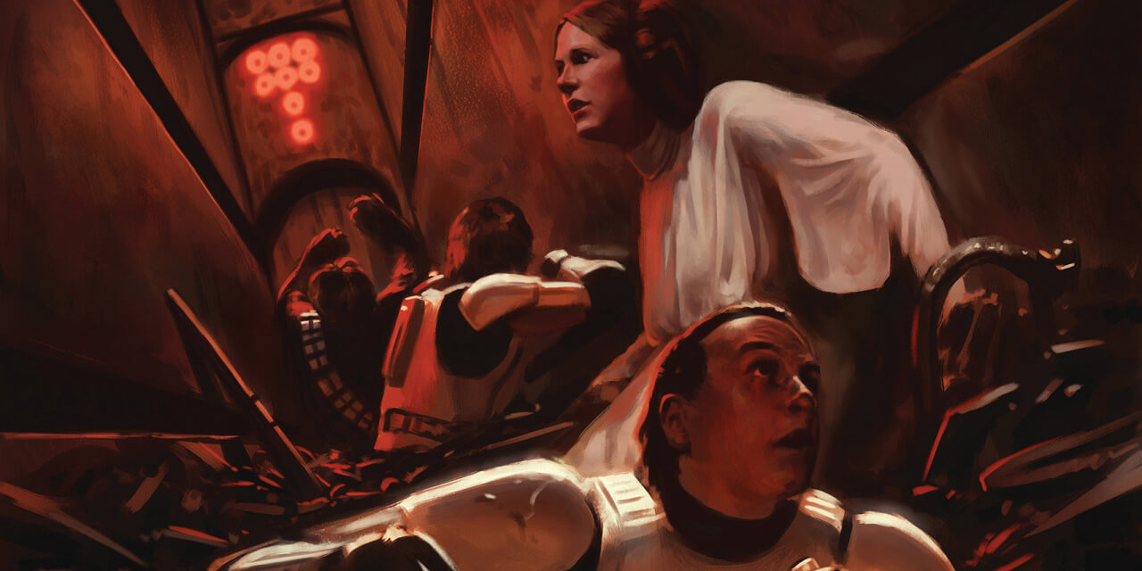 Luke and Leia trapped in the garbage compactor similarly to medium sized 3PLs, they need new logistics technology to rescue.