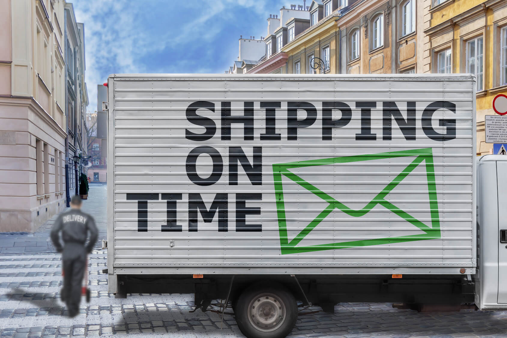 End to end supply chain visibility enable real-time communication for on-time shipments.