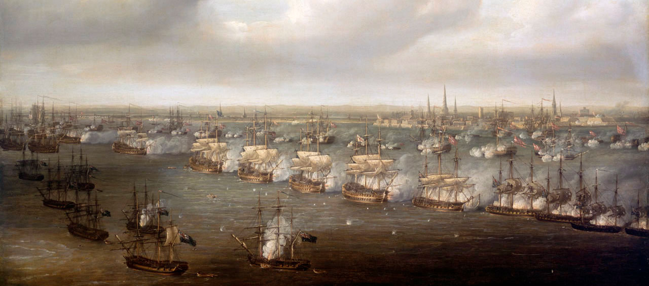 The_Battle_of_Copenhagen,_2_April_1801